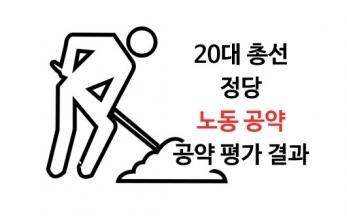 [20대 총선 정당 공약평가] 5. 노동 공약