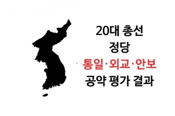 [20대 총선 정당 공약평가] 9. 통일·외교·안보 공약