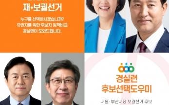 [후보선택도우미] 나와 맞는 서울•부산시장 후보를 찾아라!